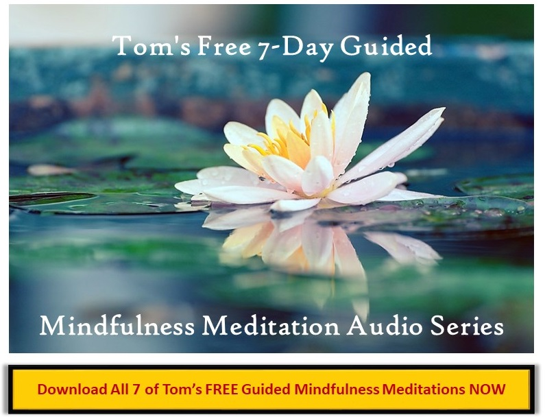 tom's FREE 7-day mindfulness meditation audio series