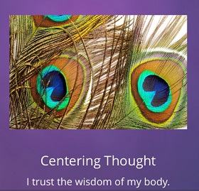 success series centering thoughts